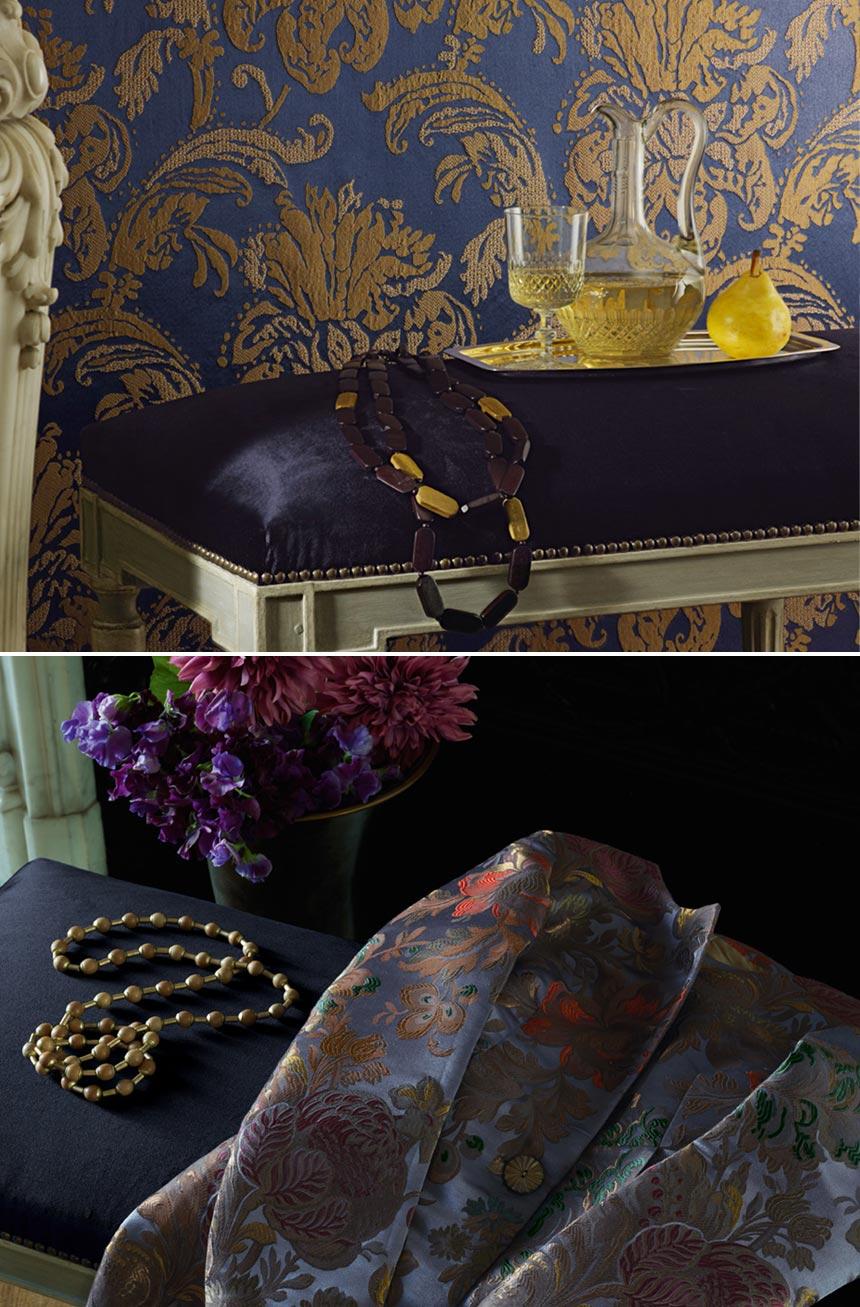 tissus d 39 ameublement ardecora couture d 39 ameublement sur mesure sud de la france l 39 atelier du. Black Bedroom Furniture Sets. Home Design Ideas
